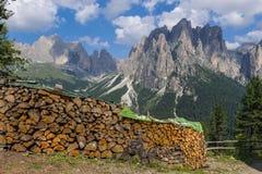 Panorama of Larsec. Royalty Free Stock Photo