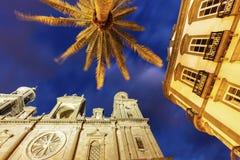 Panorama of Las Palmas Royalty Free Stock Photos