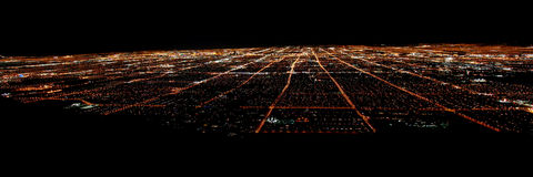 Panorama- Las Vegas Arkivfoto