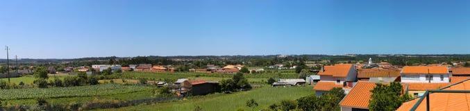 Panorama lateral do país Imagens de Stock Royalty Free