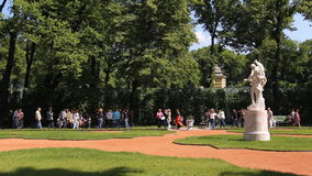 Panorama lato ogród zdjęcie wideo