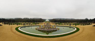 Latona Fountain royalty free stock photo