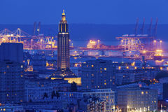 Panorama of Le Havre Stock Photos