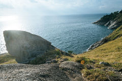 Panorama leam krating gezichtspunt Stock Foto's