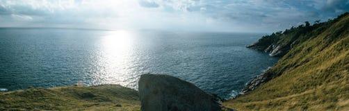 Panorama leam krating gezichtspunt Stock Afbeelding