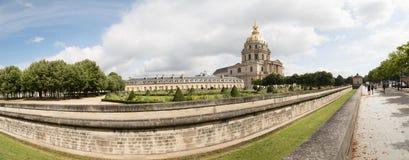 Panorama Les Invalides, Paris - imagem conservada em estoque Fotografia de Stock Royalty Free