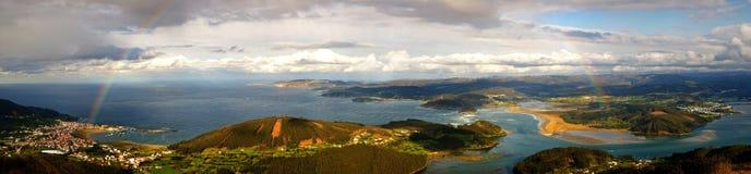 panorama- liggande royaltyfri foto