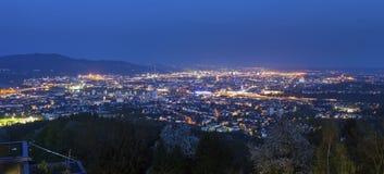 Panorama of Linz Stock Image