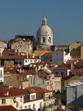 Panorama of Lisbon - Alfama Stock Photo