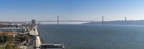 Panorama of Lisbon Stock Photos