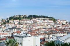 Panorama of Lisbon Stock Photography