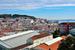 Panorama of Lisbon Stock Image