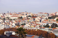 Panorama of Lisbon Royalty Free Stock Images