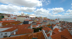 Panorama Lissabon Stockbilder