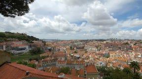 Panorama Lissabon Lizenzfreie Stockbilder