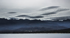 Panorama litoral Imagens de Stock Royalty Free