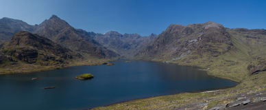 Panorama of Loch Coruisk Stock Photography