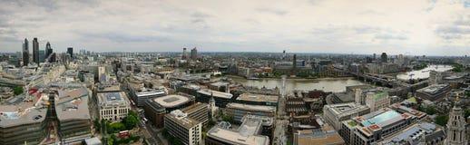 panorama- london Royaltyfri Fotografi