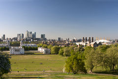 Panorama of London Royalty Free Stock Photography