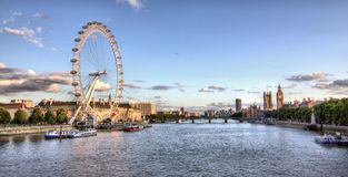 Panorama of London Stock Photo