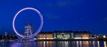 Panorama of London Stock Photography
