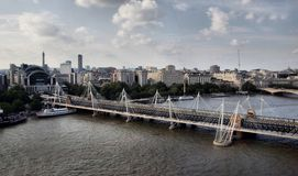 Panorama of London Royalty Free Stock Images