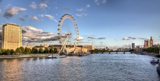 Panorama of London Royalty Free Stock Photos