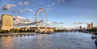 Panorama of London Royalty Free Stock Photos