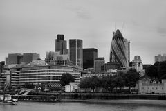 Panorama of London stock images