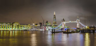 Panorama of London skyline Royalty Free Stock Image