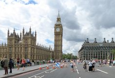 Panorama of London Royalty Free Stock Image