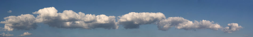 Panorama - long cloud Stock Photos
