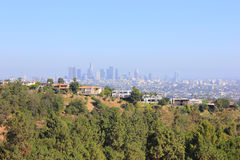 Panorama of Los - Angeles, USA Stock Photography