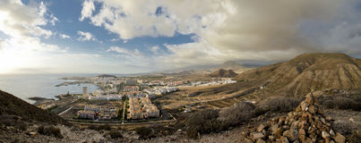 Panorama of Tenerife Stock Photos