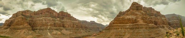 Panorama los E.E.U.U., Nevada 2013 de Grand Canyon Foto de archivo libre de regalías