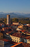 Panorama of Lucca 2-Italy Royalty Free Stock Images