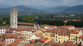 Panorama of Lucca Royalty Free Stock Photography