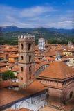 Panorama of Lucca Italia. Architecture background Stock Photo