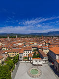 Panorama of Lucca Italia Royalty Free Stock Images