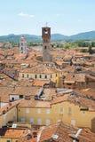 Panorama of Lucca. Tuscany. Italy. Royalty Free Stock Photo