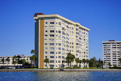 Panorama of Luxury beach hotel Royalty Free Stock Photography