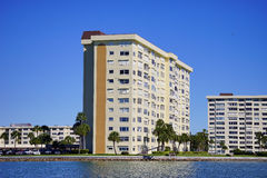 Panorama of Luxury beach hotel Stock Images
