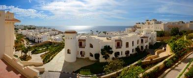 Panorama of the luxury hotel Stock Image