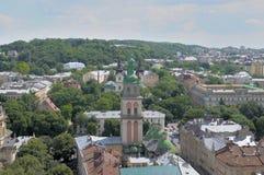 Panorama Lviv. Stock Photos