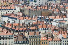Panorama of Lyon Stock Photo