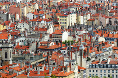 Panorama of Lyon Stock Image