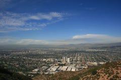 Panorama máximo de Burbank Imagenes de archivo