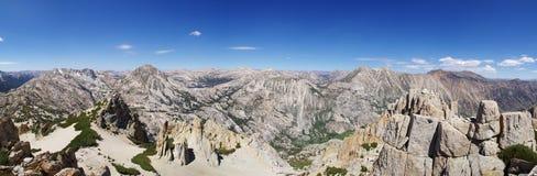 Panorama máximo de la cumbre de la caldera Foto de archivo libre de regalías
