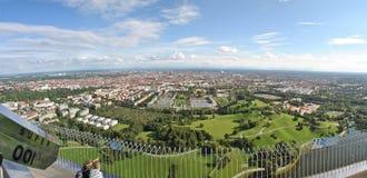Panorama München Stockfoto