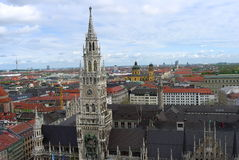 Panorama München Lizenzfreie Stockbilder